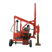 Cheap guardrail pile driver piles ramming machine
