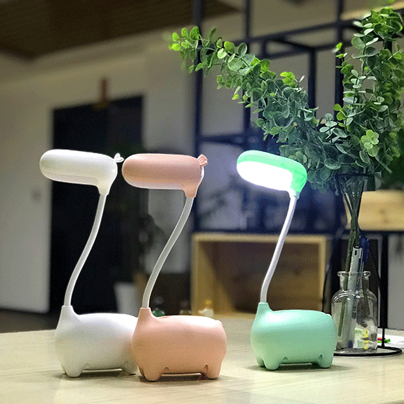 2018 new USB rechargeable cartoon LED table <strong>lamp</strong>