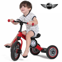 Licensed Mini cooper Foot Pedal cheap kids bicycles for sale Ride On 3 wheels bikes for kids