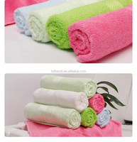 Bamboo fabric wholesale absorbent hand towel for hotel or home
