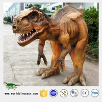Zigong Robotic Dinosaur Costume Hidden Legs for Game Show