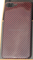 good price red/black color full signal real kevlar mobile phone case