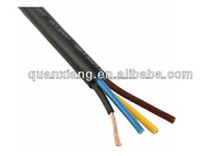 flexible control cable H05VV-F Flexible 300/500V PVC insulated PVC sheathed Multi cores cable