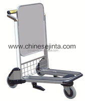 Aluminium folding luggage trolley and hand trolley two wheel