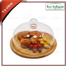 Bamboo breakfast food fruit tray with cover,egg tray