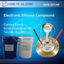 Elastic Electronic potting silicone rubber for PCB
