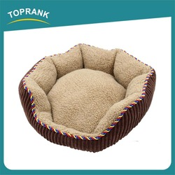 Toprank Since 1988 Hot Sale Plush Pet Bed Large Dogs Outdoor Pet Bed Warmer