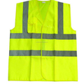High quality fire and safety most popular custom cheap yellow reflective vest