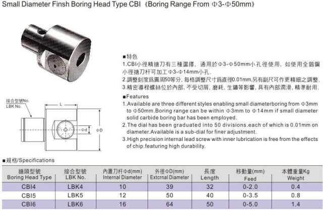 hole cutter boring tools micro finish boring bar
