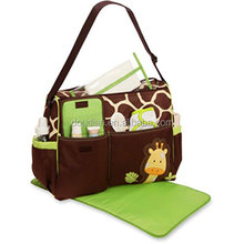 Best Large Waterproof Mummy Totes Diaper Bag with Changing Mat