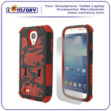 Combo Kickstand Hybrid Case Hard Gel Cover with Stand for Samsung Galaxy S4 SIV i9500 Paypal acceptable