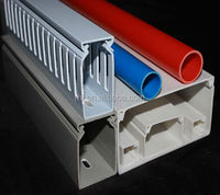 wholesale alibaba express colored flexible conduit, pvc square trunking, grey color pvc trunking