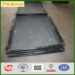 2015 manufacture chain link fencing for dog runs