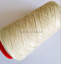 100% flax melange yarn top dyed for circular knitting