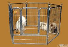 large folding wire pet cage for dog house metal dog crate kennel with Gate