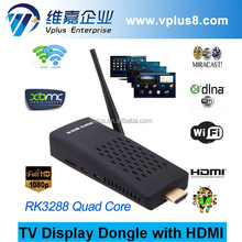 Vplus 34-6R smart tv stick RK3288 4K android tv dongle smart tv dongle