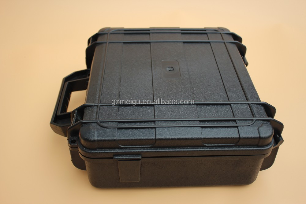 Guangzhou box factory Tricases ip67 injection molded hard plastic instrument cases with oem customized panel_325003951