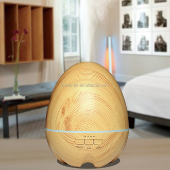 Light / Dark Woodgrain Ultrasonic Ion Humidifier Aroma Air Aromatherapy Diffuser