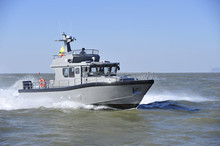 14.88m wave alu military patrol boat for sale