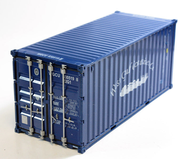 Shipping Metal Container Models in scale 1:30