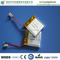 402730 250mAh 3.7V Mobile Phone Digital Products Li-polymer Lithium Polymer Battery Making
