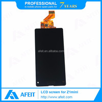 OEM original for sony xperia z1 compact lcd , for sony xperia z1 compact lcd replacement, for sony xperia z1