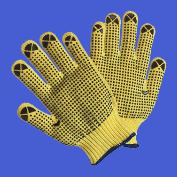 PVC dotted hand glove manufactures in China