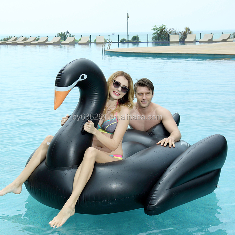 2017 giant inflatable pool swan float for holiday