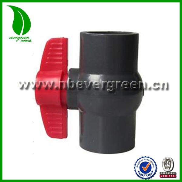 "hot selling 2"" Gray PVC Socket Ball Valve"