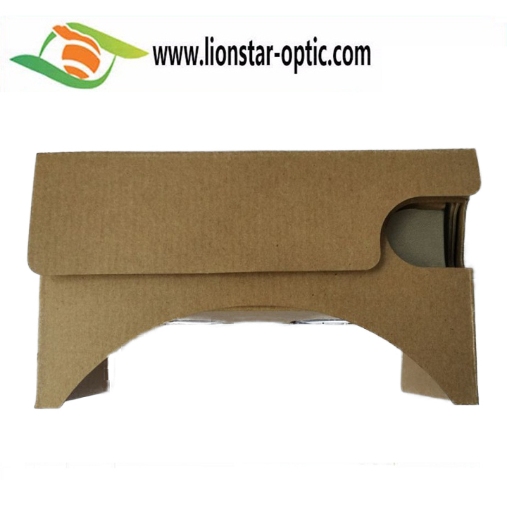 90%-95% DISCOUNT Custom OEM Google Cardboard Virtual Reality 3D Goggles For Smartphone