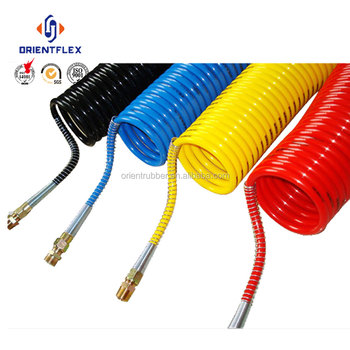 Best selling bending high performance multi-purpose polyurethane recoil air hose factory