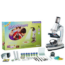 Science experiments toys children plastic microscope STX-1200