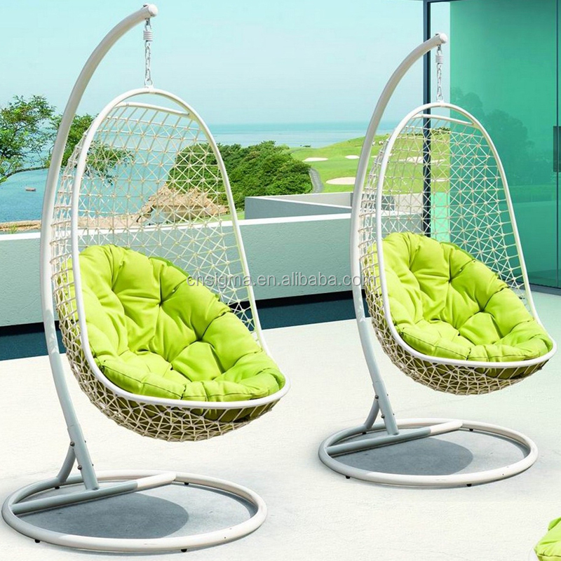 Outdoor Indoor Swing Hanging Chair With Stand Patio Swing Chair Buy Patio S