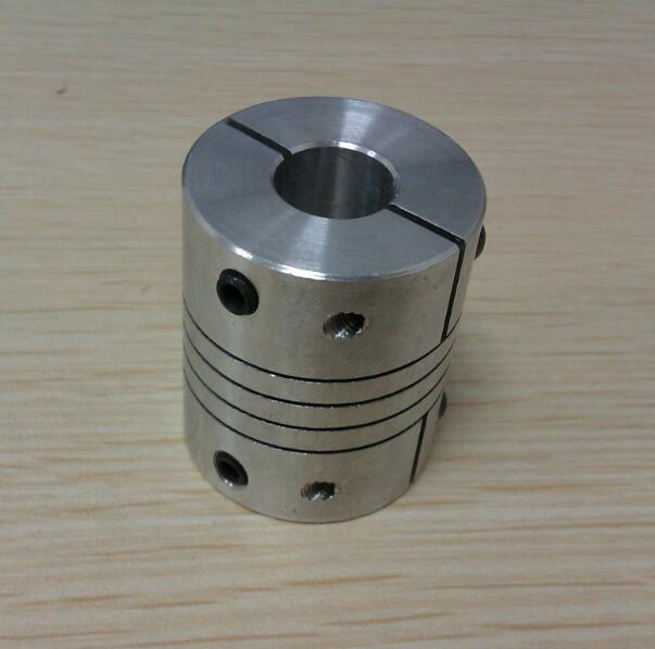 Winding type stepper motor axis shaft flexible coupling for Electric motor shaft types