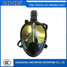 BSCI manufacturer anti fog and anti leak 180 view adult diving full face snorkel mask