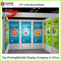 pvc foam sheet 1mm thick with custom logo printing
