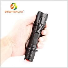 Supply Portable 18650 Battery 4 Color WRGB Led Rechargeable Flashlight