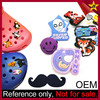 Rubber Buttons Charms Custom PVC Decoration