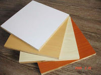 best price white color melamine laminated mdf for decoration