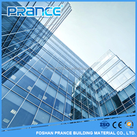 Competitive Price Aluminum Glass Curtain Wall