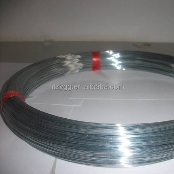 high carbon galvanized wire pulling spring