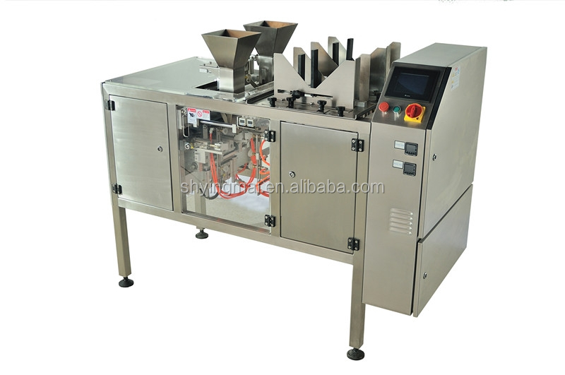 horizontal filling machine for standup pouches (doy pack)