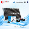 DC 5V/12V 10w portable mini solar power generator with charger for lighting