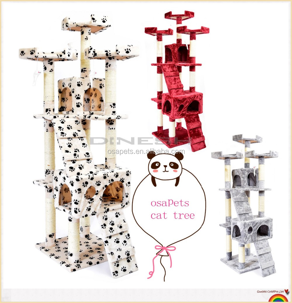 Cheap Price Luxury Small Cat Tree / Cat Scratching Post