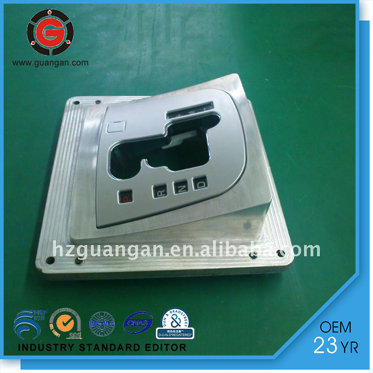 Precise Mold Injection Injected Plastic Part