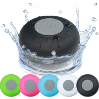 Wireless Waterproof Bluetooth Stereo Shower Speaker With Suction Cup