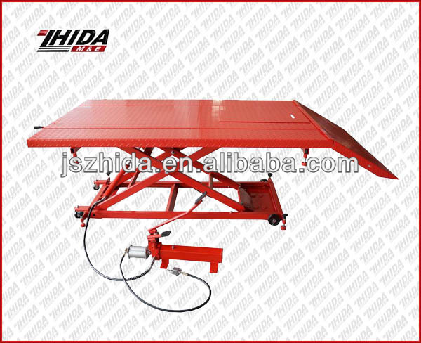 Workshop Air/Hydraulic ATV/Motorcycle Lift Table 1500LB Capacity