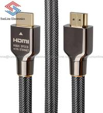 Hi-speed 100% Oxygen free copper OFC Gold Plated 4K HDMI cable 2.0