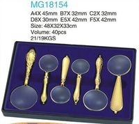 MG18154 6PCS European-style Gift Suit Magnifying Glass Set for Promotion