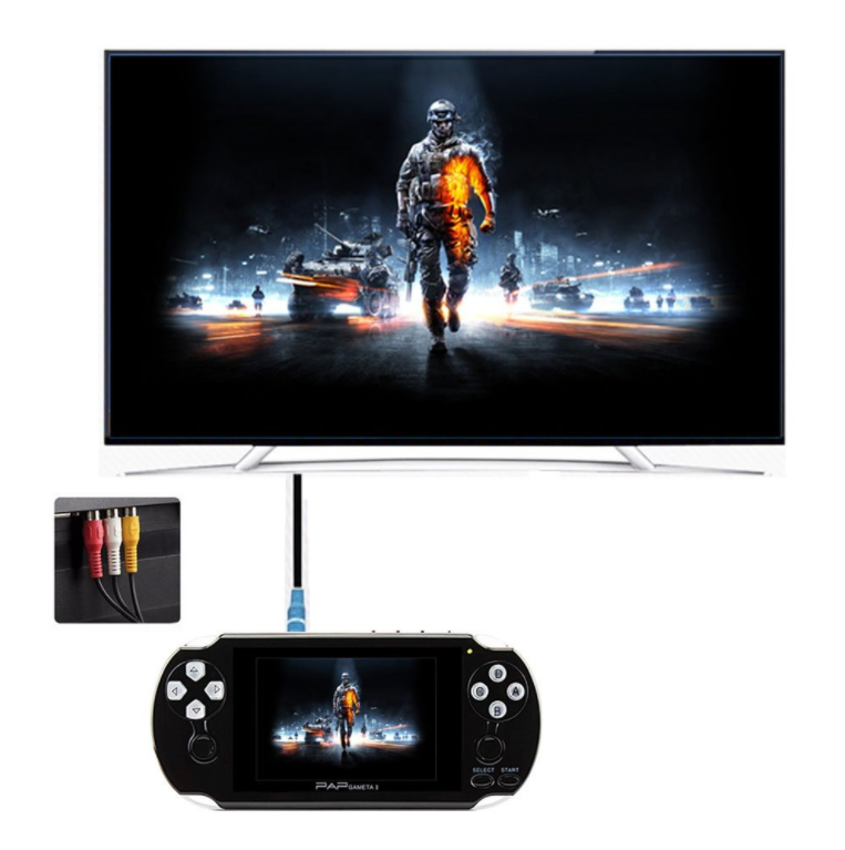 "4.3"" PAP Gameta II 64 Bit Handheld Game Console Portable Game Player with 600 Games console"